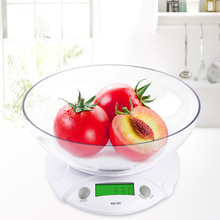 Buy New WH-B09L 7kg/1g Electronic Kitchen Scales Portable LCD Digital Scale Food Parcel Weight Balance Tools Bowl for $12.48 in AliExpress store