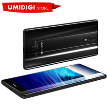 "UMIDIGI Crystal Android Glass Material Smartphone MTK6737T 1080x1920P 5.5"" Smart Cell Phone(China)"