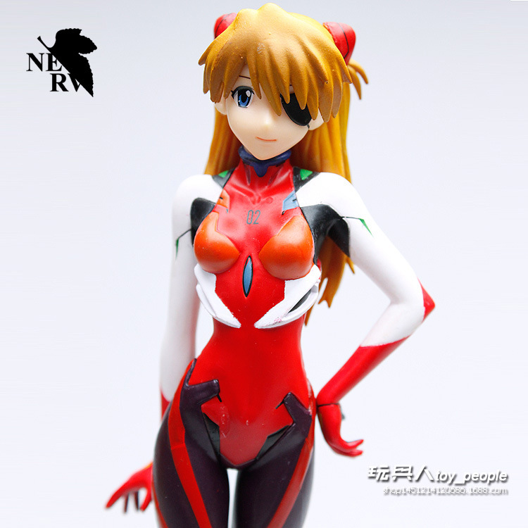 Hot Sale Evangelion EVA Asuka Langley PVC Action Figures Sexy Toys Models Free Shipping about18cm<br><br>Aliexpress