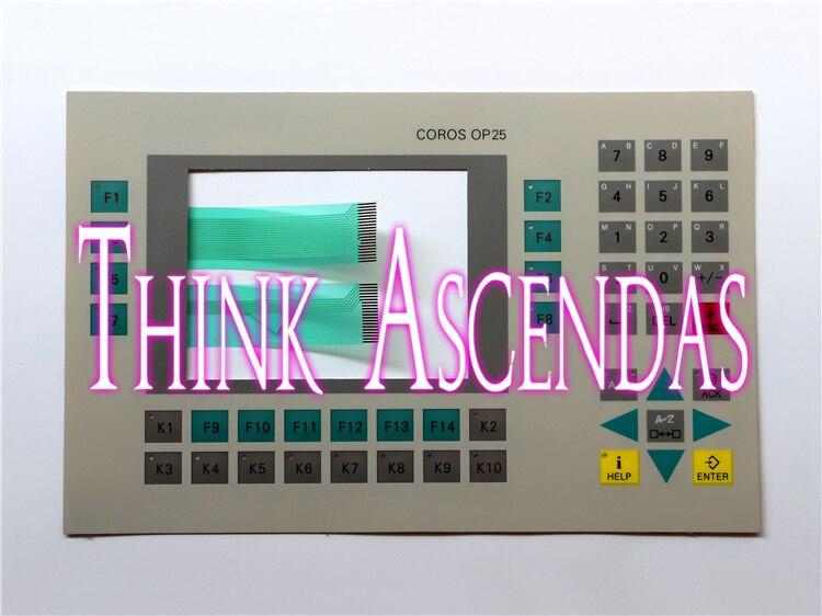 1pcs New OP25 6AV3525-1EA41-0AX1 6AV3 525-1EA41-0AX1 / OP25 6AV3525-0EA01-0AX0 6AV3 525-0EA01-0AX0 Membrane Keypad<br>
