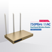COMFAST 750mbps wifi router 2.4ghz + 5.8ghz high power signal booster 11AC high gain wireless router amplifier CF-WR630AC(China)