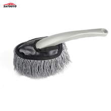 ZATOOTO Car Wash Brush Microfiber Car Motorcycle Detail Washer Supplies Auto Care Brush Tools(China)