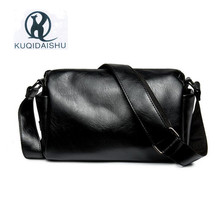 PU Leather Crossbody Bags For Men Fashion Men Messenger Bags Large Capacity Shoulder Handbag Travel Man Bag B