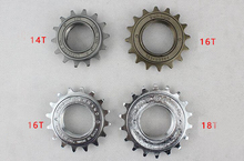 14T 16T 18T Fixed Gear BMX Bicycle Freewheel Single Speed Flywheel Sprocket Bicycle Accessories
