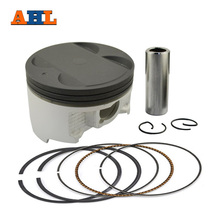 AHL Bore Size 83.5mm +50 Motorcycle Piston & Ring for Yamaha YP400 YP 400 Majesty Piston Kit OVERSIZE 50(China)