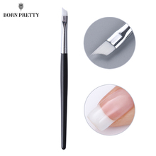Oblique Head French Tips Nail Brush Acrylic UV Gel Polish Painting Drawing Pen Manicure Nail Art DIY Design Tools(China)