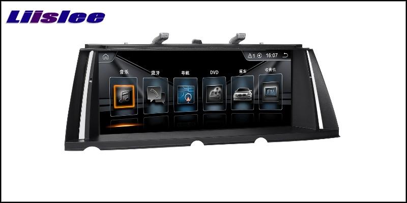 For BMW 7 F01 F02 F03 F04 2013~2015 LiisLee Car Multimedia GPS Audio Hi-Fi Radio Stereo Original Style For NBT Navigation NAVI 4