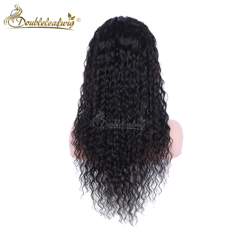 130% Density Lace Front Human Hair Wigs Brazilian Vrigin Human Hair Front Lace Wigs Kinky Curly Full Lace Wigs For Black Women<br><br>Aliexpress