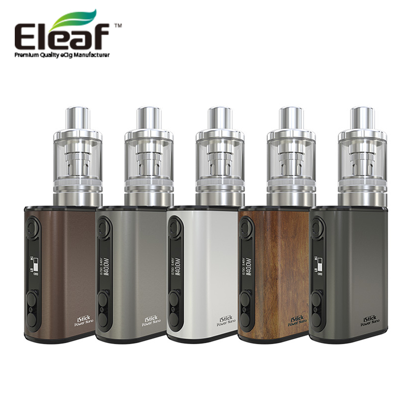 100% Original Eleaf iStick 40W Power Nano Kit 2ML Melo 3 Nano Electronic Cigarette Atomizer 1100mAh Vape Mod VS istick pico