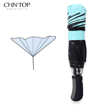 Black Coating Umbrella Reverse Fashion Color Inverted Chuva Umbrella Rain Women 3 Folding Sunny Automatic Car Men Umbrellas