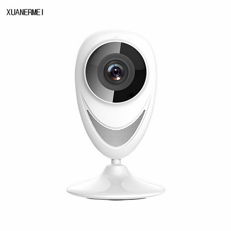 XUANERMEIP2P Wifi IP Camera HD 720P Onvif IR Night Vision Two-way Audio Motion Detection APP Notification for Android IOS Device<br>