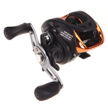 AF103 10+1BB Left/Right Hand Bait Casting Carp Fishing Reel Ball Bearings 6.3:1 Gear Ration High Speed Baitcasting Reel Pesca