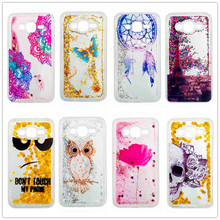 Glitter Bling Dynamic Liquid Paillette Quicksand Soft TPU Cover Capa for Samsung Galaxy J5 J3 Case Cellphone Accessories(China)