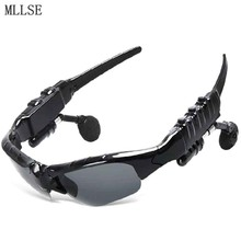 MLLSE Anime Hatsune Miku Vocaloid Sun Glasses Bluetooth 4.1 Headset Stereo Headphone Sport Earbuds Earphone for Phone PC MP3 MP4