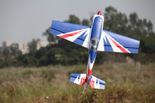 FMS RC Airplane 1300MM / 1.3M Extra 300 E300 Blue PNP Durable EPO Aerobatic 3D Big Scale Model Plane Aircraft 100% Original