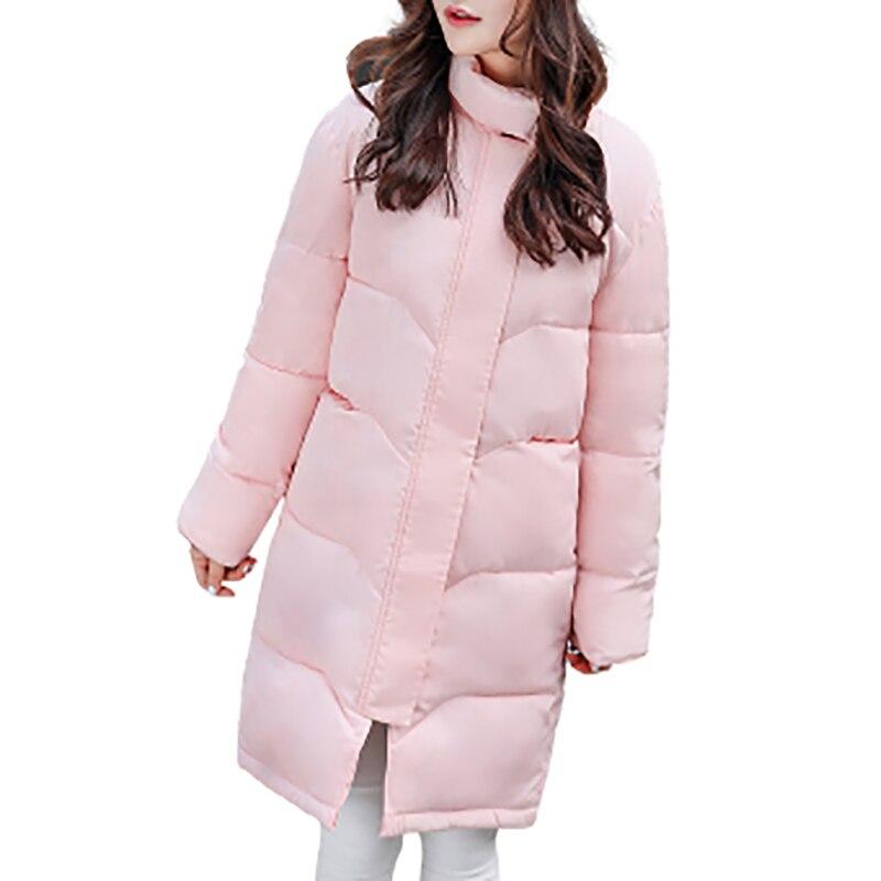 Women Winter Parkas Cotton Padded Warm Coats 2017 Female Plus Size Long Fit Coat Feminina Outerwear Jackets Parkas Down GV933Îäåæäà è àêñåññóàðû<br><br>