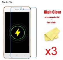 XinYaDa Ultra Clear Glossy Screen Protective Lcd Film For Doogee X10 Transparent Screen Protector Guard,3pcs