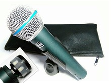 Free Shipping! High Quality Version Beta 58a Vocal Karaoke Handheld Dynamic Wired Microphone BETA58 Microfone Mike Beta 58 A Mic(China)
