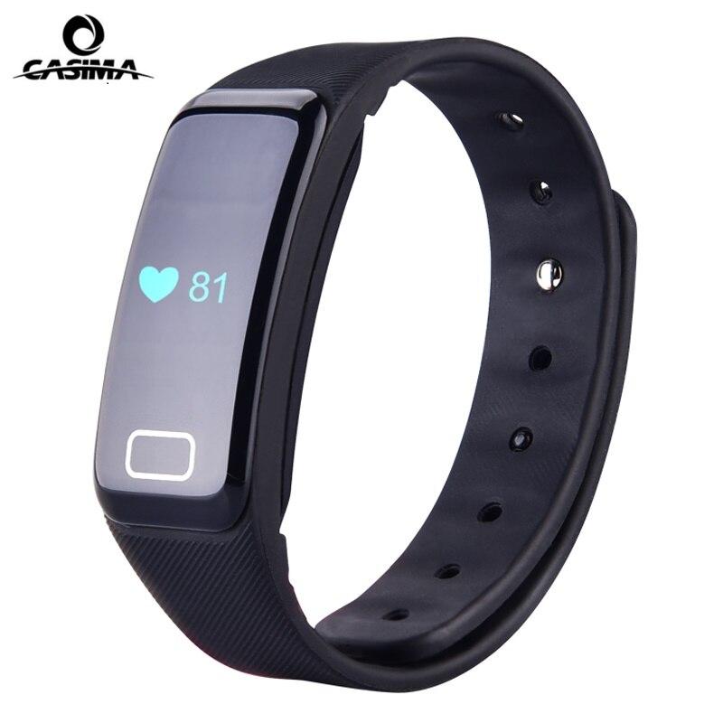 CASIMA Smart Watch Fitness Tracker Heart Rate Monitor Sleep Watch LED Digital Watch Sport Men &amp; Women Watch Clock<br>