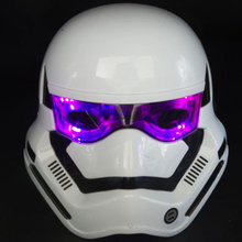 Bao Wu Shikelongshi hasbro black white soldiers helmet adult children's toys luminous mask Star Wars Hasbro