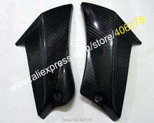 Hot Sales,2 x Carbon Fiber Up Fairing For Suzuki GSXR 600 750 2011 2012 2013 GSX-R600/750 K11 11 12 13 Tank Side Cover Panel(China)
