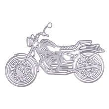 Motorcycle Metal Cutting Dies Stencils DIY Scrapbooking Album Decorative Embossing Folder Suit Paper Cards Die Cutting Template(China)