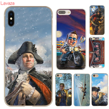 Lavaza Beautiful Digital Art Hard Cover Case for iPhone 8 8 plus 7 7 Plus X (10) 6 6s Plus 5 5S SE 5c 4 4S(China)