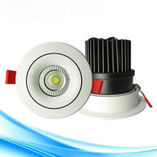 12W 15W COB Ceiling lamp LED Down lights 110V 220V  LED Downlight set LED Downlight LED recessed light free shipping