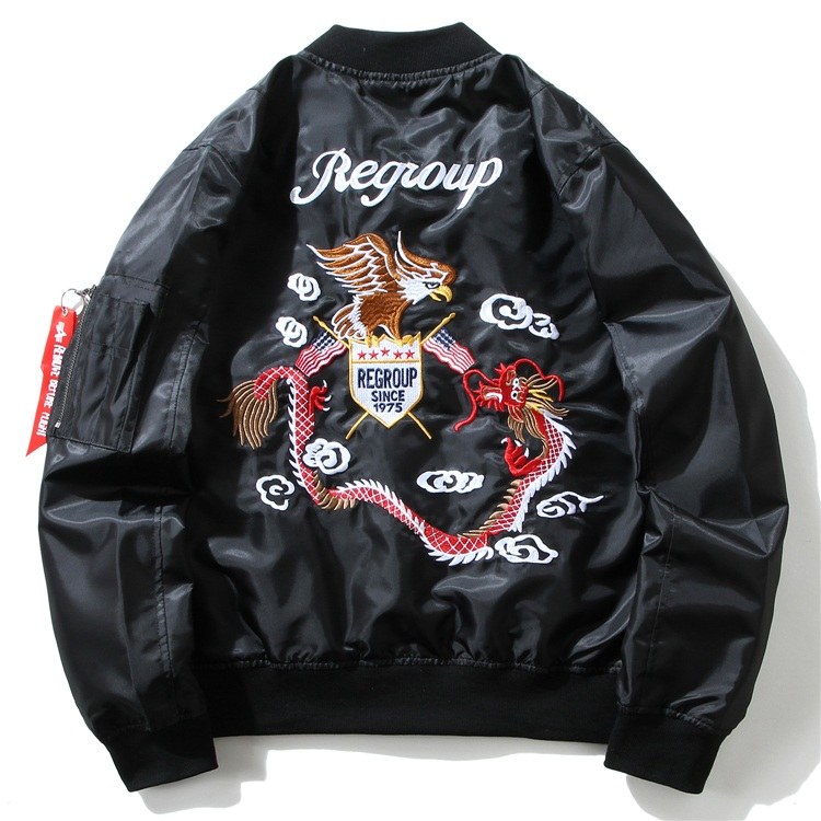 Eagle Dragon MA1 Bomber Jacket 1