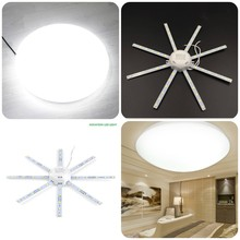 2018 New Led Octopus Ceiling Lamp AC 220 Bulb White Light 12W 16W 20W 24W Energy Saving Octopus Lamp High Power For Home Light
