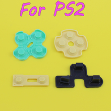 200SETS Conductive Rubber Contact Pad Button D-Pad for Sony PS2 Controller