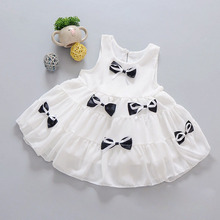 Boutique kids clothing 1 year birthday dress toddler pageant gowns Children clothing dress girls daughter dresses girl Baby NEW
