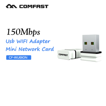 Comfast adaptador wi-fi CF-WU810N receptor wifi usb wi-fi adapter wifi access point RTL8188EU chipset wireless wifi dongle(China)