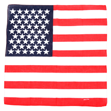 AASS Cool USA Stars America Flag Ladies Hair Band Head Band Headwrap Bandana Scarf(China)