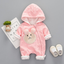 Christmas baby clothes girls rompers solid pink purple color baby girl clothing boutique baby boutique customs(China)