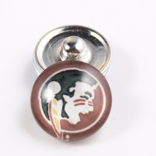 Florida State Seminoles NCAA 18mm Glass Snap Button Jewelry Cabochons Snap Charms Fit Snap Button Bracelet Jewelry