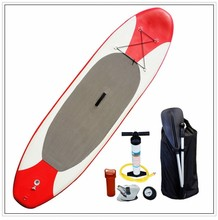 Red&grey stand up paddle board/inflatable surfing board