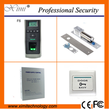 Biometric access control fingerprint reader 500 fingerprint users TCP/IP free software linux system access control kit
