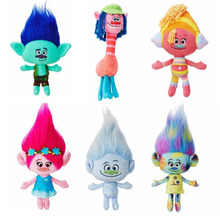 1 piece high quality Poppy Branch soft doll new Moive Trolls plush toys gifts for Children