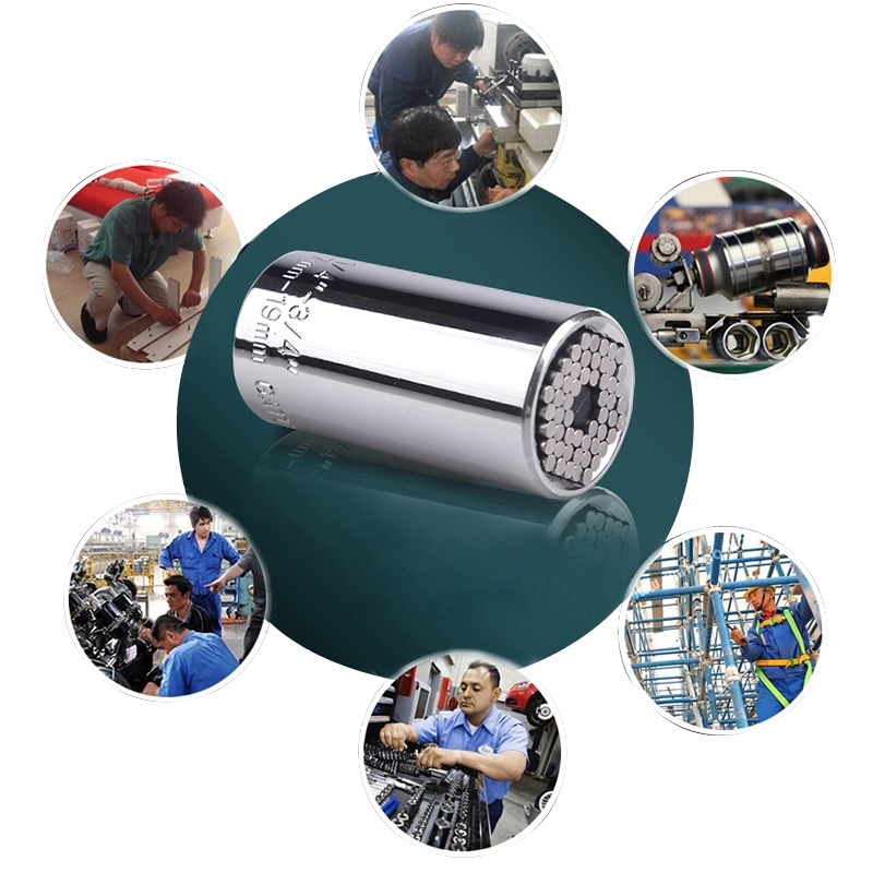 G Gator Grip Universal Socket Power Drill Adapter Reflex Tool Kit 2pcs Set #71963 T<br><br>Aliexpress