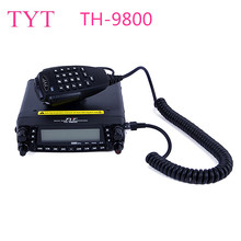 TYT TH-9800 50W Mobile Radio Transceiver VHF UHF Quad Band Car Radio Station CB Walkie talkie for truckers Ham Radio(China)