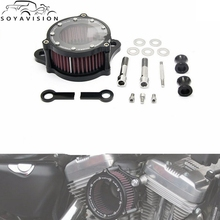 SOYAVISION Harley Motorcycle accessories Air Cleaner Intake Filter Systems Kit For Harley Sportster XL 883 1200 Air Filter