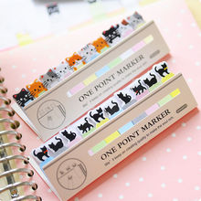 cute kawaii diy memo pad sticky Notepaper Post-it note cartoon animal bear cat heart frog sticker office school supplies