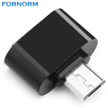 Fornorm Super Mini OTG Micro To USB Adapter Smart Connection Kit Adapter Female Cable for Android Tablet PC(China)