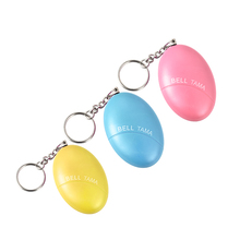 3pcs/lot 120DB Key chain Personal Anti -Rape Anti-Attack Protection Safety Personal Anti-Panic Alarm