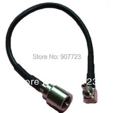 10pcs CRC9 Male Right Angle To FME Male Plug RG174 RF Jumper Pigtail Cable 3G 4G Modem 18CM(China)