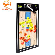 MAICCA new Magnetic Professional Basketball Tactic board Basketball Board Folding plate Basketball Training Guidance Board
