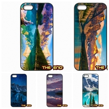 For iPhone 4 4S 5 5C SE 6 6S 7 Plus Galaxy J5 A5 A3 S5 S7 S6 Edge Moraine Lake Banff National Park Alberta Canada Cases