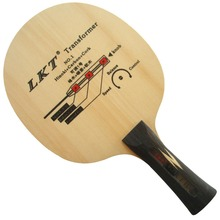 LKT Transformer NO.1 Hinoki+Carbon+Cork Shakehand Table Tennis / PingPong Blade