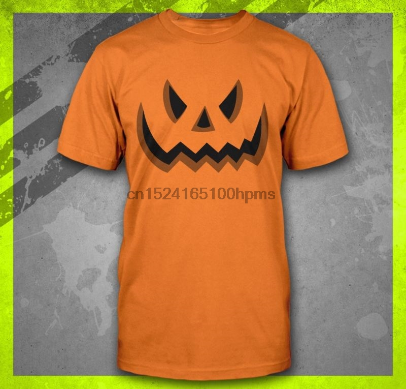 Le donne incinte zucca intagliata Faccia Halloween Maternità Gravidanza T-shirt Tops
